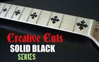 Diamond Cross Black Dotbuster Fret Marker Inlays Decal For Olp Maple Neck Guitar