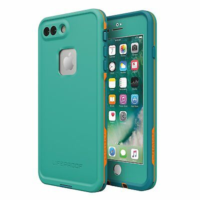new arrival 6bed7 64392 LifeProof FRE Waterproof Case For iPhone 8 Plus 7 Plus - Sunset Bay Light  Teal 660543402947 | eBay