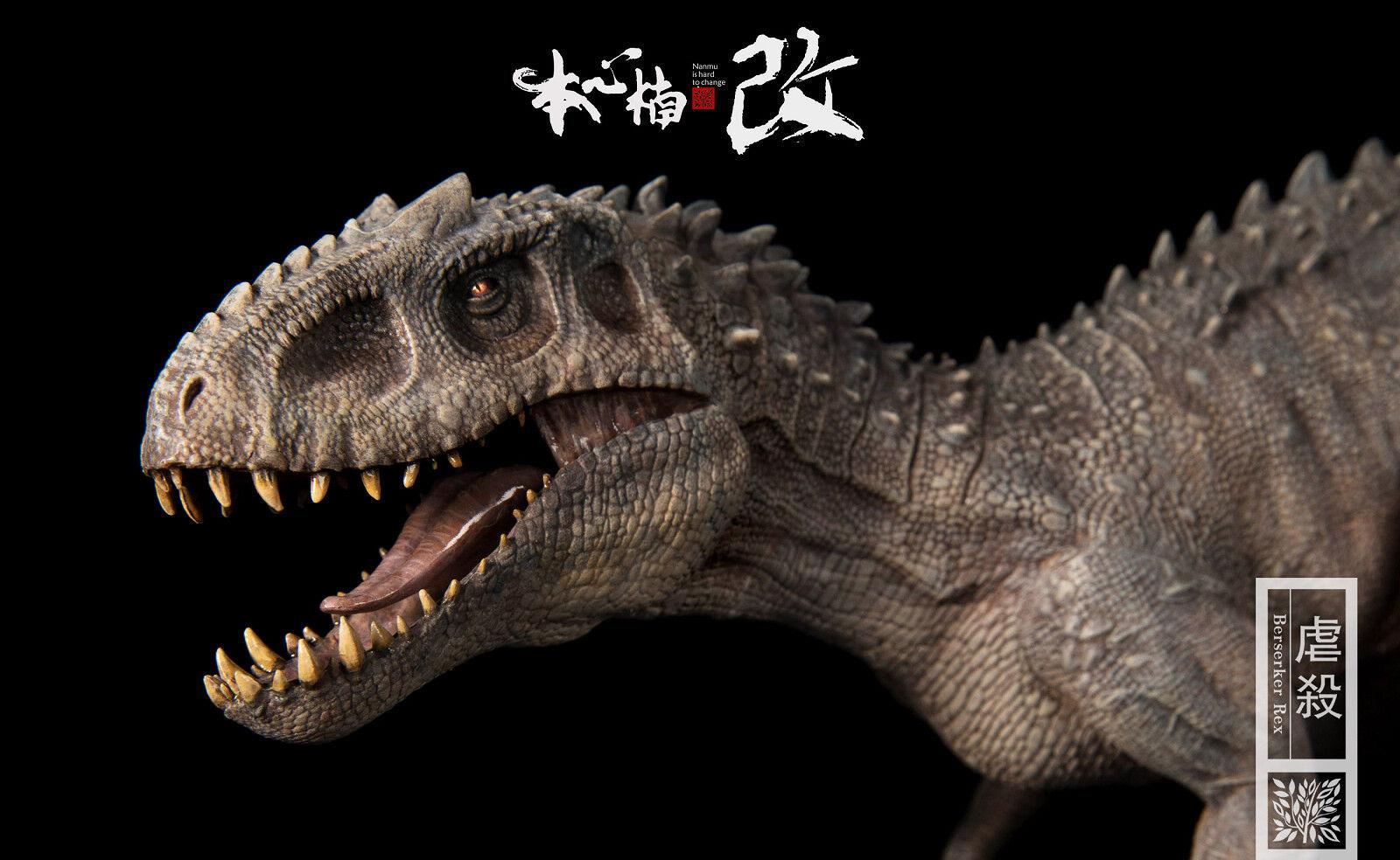 1 35 Scale Movies Series Dinosaur Animal Model Bereserker Rex PVC Figure Collect