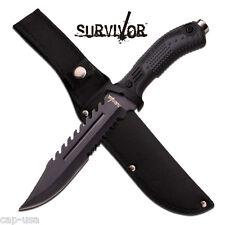 Survivor - Couteau de Chasse Equipement Survie Jungle / Camping # HK-793B