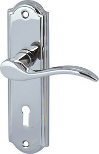 SYWELL lever handles with backplates for lever lock 3 Finishes Available - <span itemprop=availableAtOrFrom>Manchester, United Kingdom</span> - Returns accepted Most purchases from business sellers are protected by the Consumer Contract Regulations 2013 which give you the right to cancel the purchase within 14 days after the d - Manchester, United Kingdom