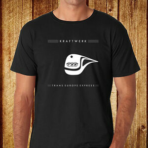 Details About New Kraftwerk Trans Europe Express Electro Music Men S Black T Shirt Size S 3xl