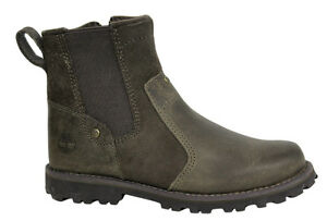 Details about Timberland Asphalt Trail Chelsea Kids Side Zip Juniors Boots Brown A18HF D88