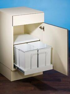 Clax-3/500-2, Küchen Einbau Abfalleimer, 2x 15L, Mülleimer, Küchen ...