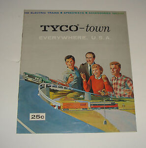 Image Is Loading Original 1963 64 Tyco Town Everywhere Usa Ho