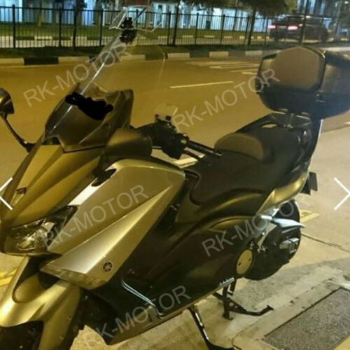 Adjustable Windshield Extension Spoiler Wind Deflector For Motorcycle Scooter