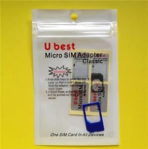 BLUE-Micro-Sim-Adapter-Apple-iPhone-4-4S-iPad-1-2-3-4-Card-Converter-Holder