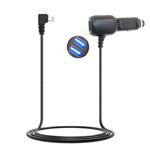 Car Charger Auto Power Supply Adapter Cord For Garmin GPS Nuvi 40 LM//T 3760LM//T