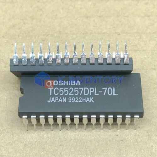 32,768 palabras de 8 bits de memoria RAM estática DIP-28 1PCS TC55257DPL-70L Encapsulation
