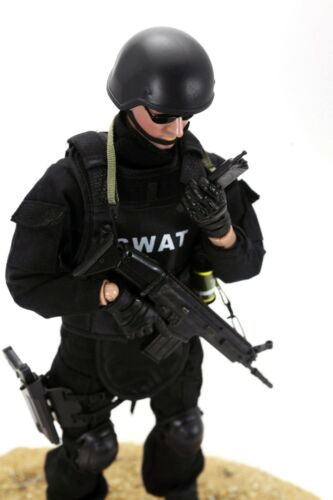 1//6 SWAT Action Figure Police Soldier military combat suit hot figure toy ❶USA❶