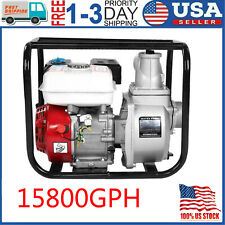 3in 65hp Gas Water Trash Pump Petrol High Pressure Garden Irrigation 15800gph