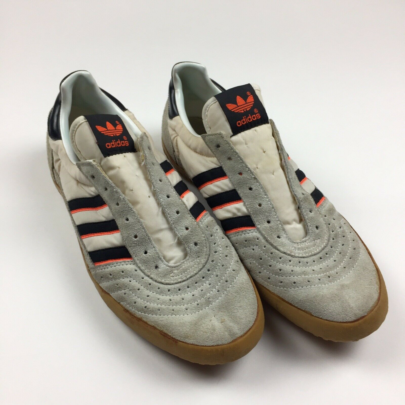 c2caab5a701c4 Vintage Adidas Indoor Courts shoes Size 9 Tennis Style 80s Rare ...