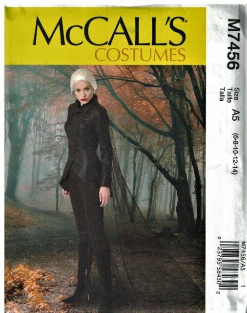 New Sizes 6-22 McCalls M7420 PATTERN Misses Costume
