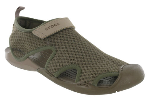 Swiftwater Donna Sea Crocs Shoes Flat Sandali Summer Mesh Beach Holidays 1UvRgvqF