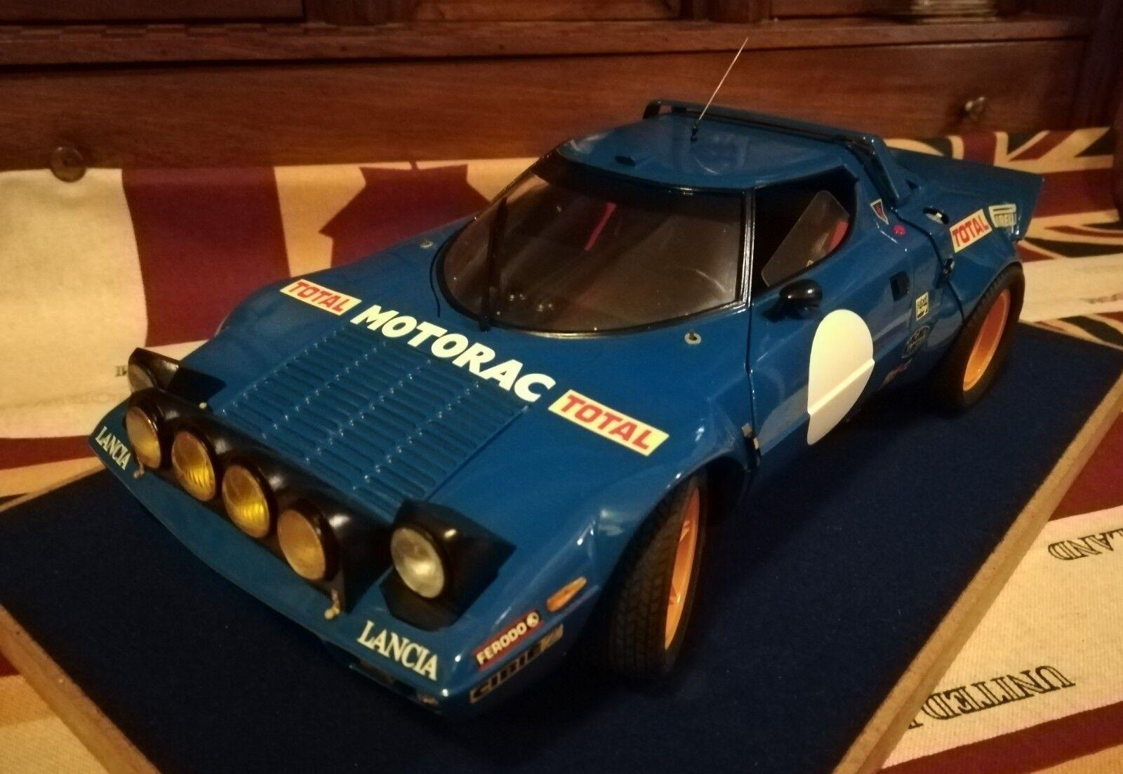 1 12 Lancia Stratos Winner Montecarlo 1979 Museum  CMC Exoto GMP Pocher Spark