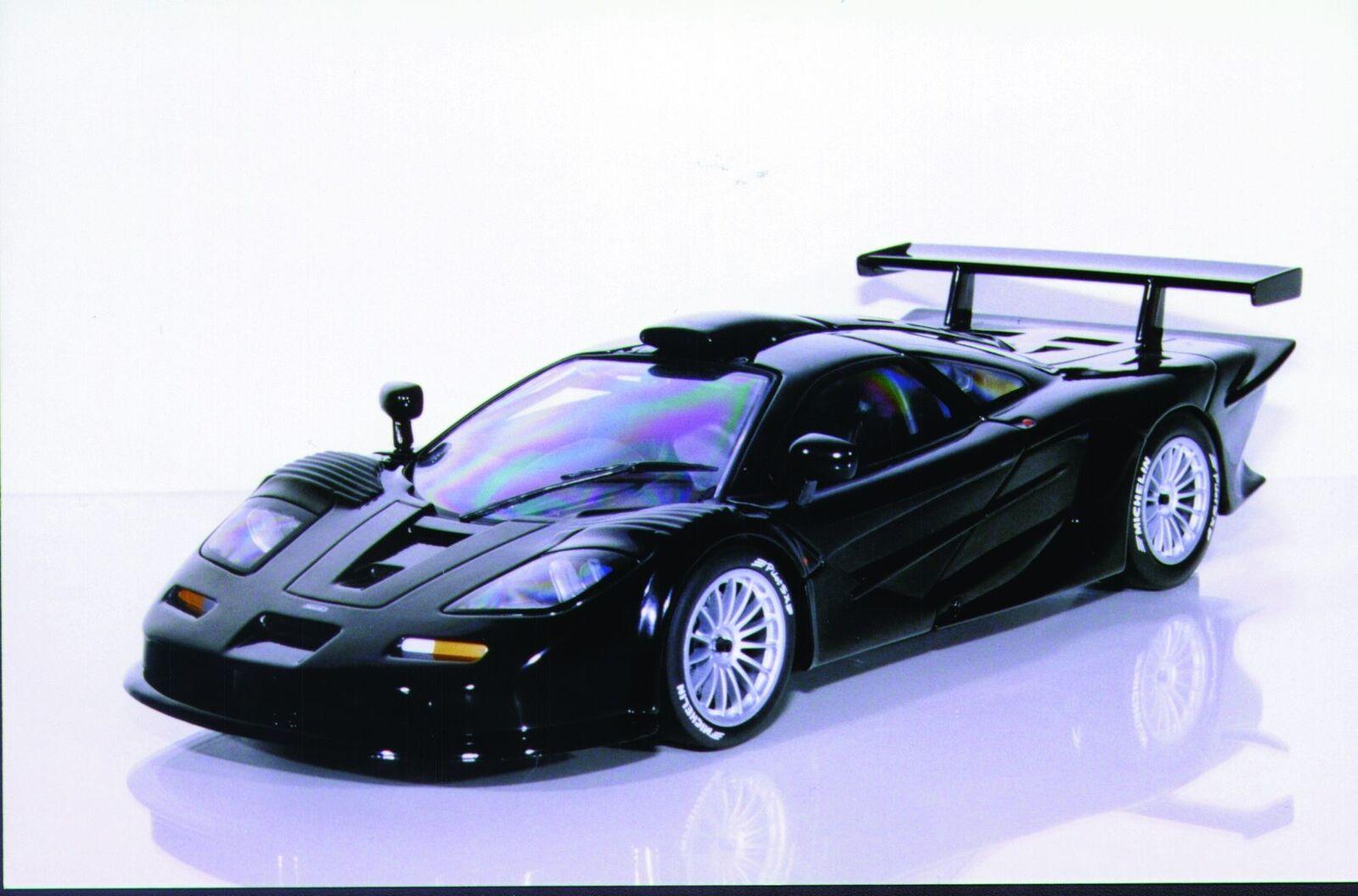 UT modelos McLaren F1 GTR ROADCAR 'Longtail (' 97) Negro