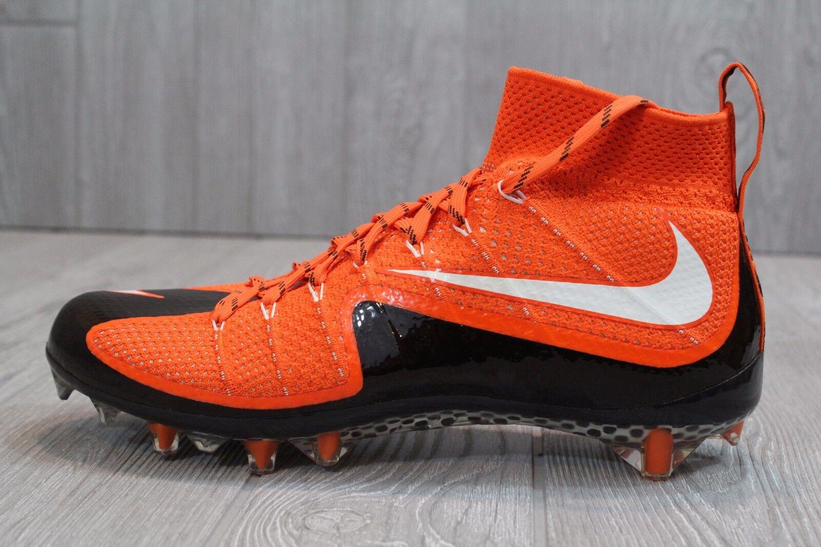 22 Nike Vapor Untouchable Football Cleats orange Black White SZ 9, 14 707455-808