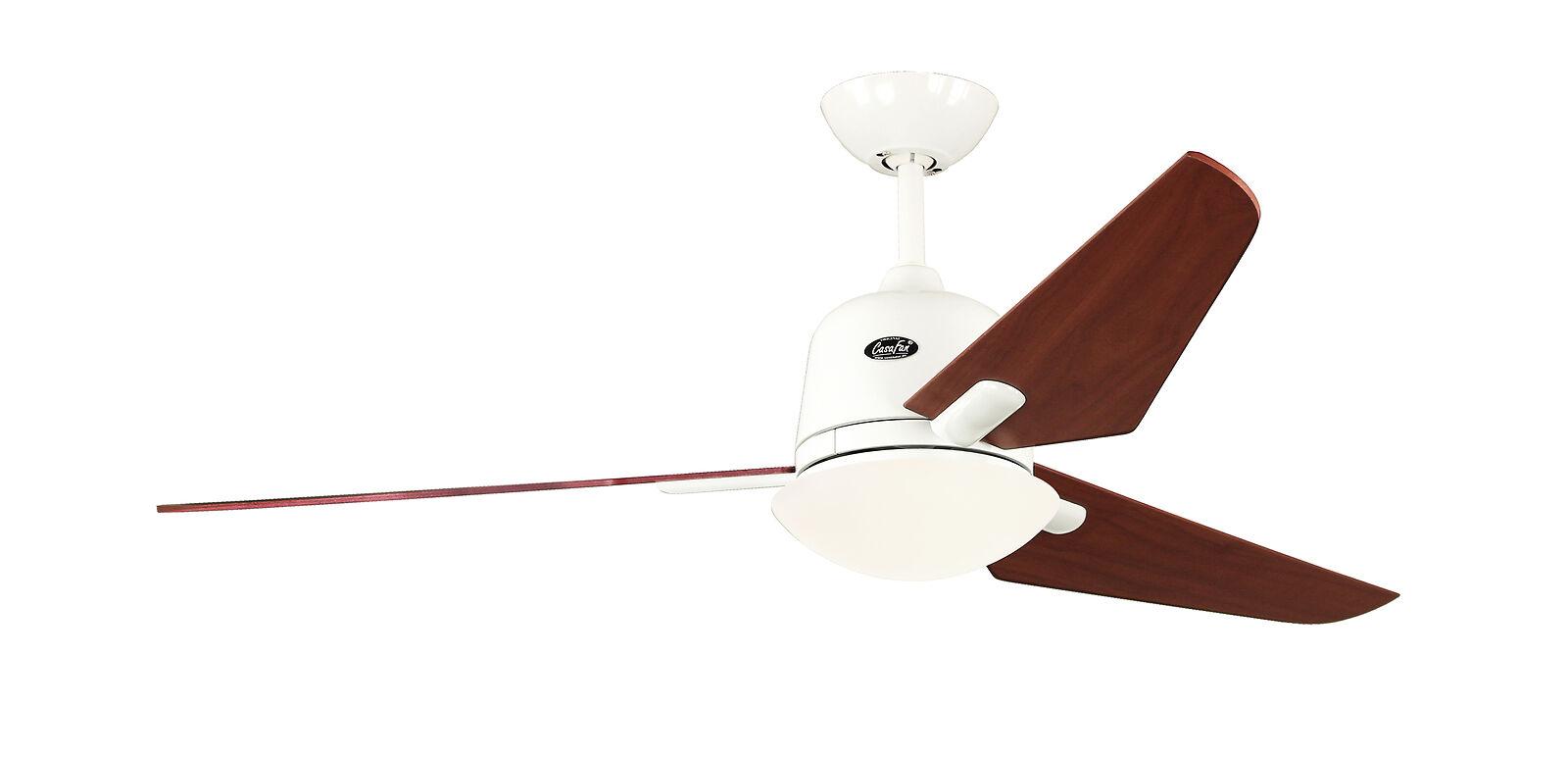 Ceiling fan CasaFan ECO AVIATOS 132cm 513300 White / Walnut