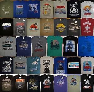 Jaws-Movie-Great-White-Shark-T-Shirt