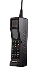 Brand New Classic Retro Thick Brick Unlocked Cell Phone Black/White ( Black )