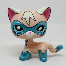 Rare Littlest Pet Shop COMIC CON CAT Super Hero kitten kitty Toy LPS