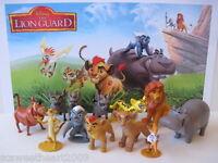 Disney Junior The Lion Guard Movie 12 Pc Figure Play Set Kion Fuli King Simba