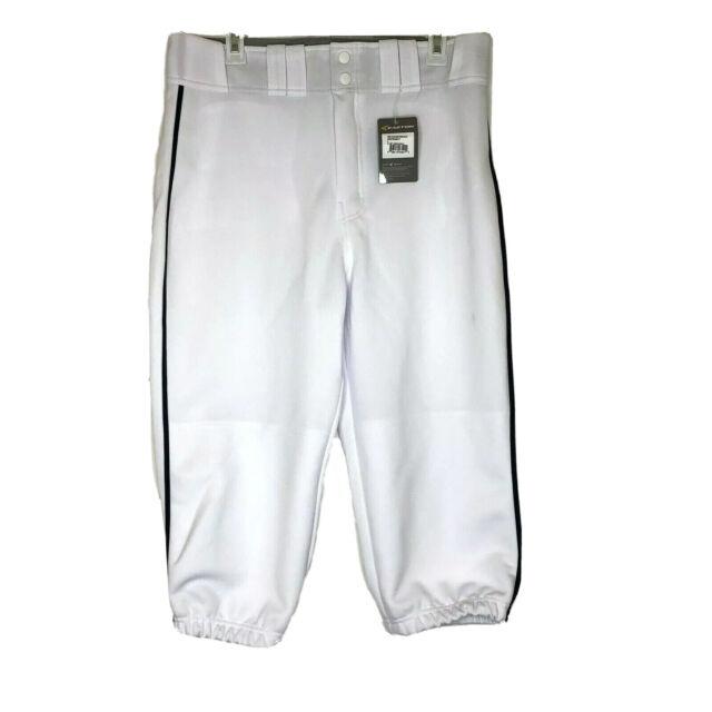 L WH//BK Easton Pro Knicker Baseball Pant A167105