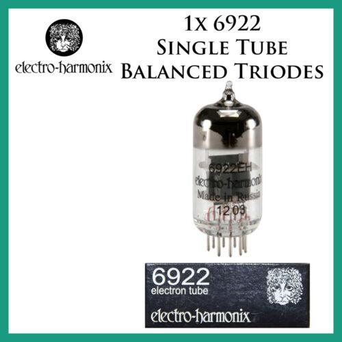 Single Tube E88CC*Balanced Triodes*One New 1x Electro Harmonix 6922