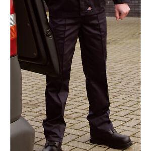 Dickies-Redhawk-Cargo-Pantalones-De-Combate-uniforme-Trabajo-Pantalones-Informales-controladores