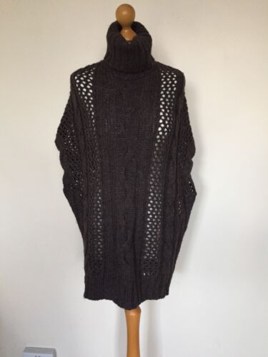 Sweater Brownxs Knit Thick Winter Dress Replay Mesh Autumn Jumper Sleeveless Top pRCxw