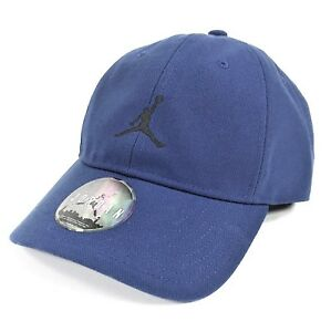 c4ff75c619944 Image is loading JORDAN-JUMPMAN-HERITAGE-H86-FLOPPY-STRAPBACK-ROYAL-BLUE-