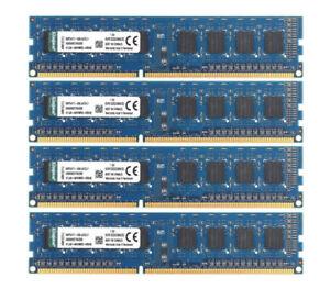 Fr-Kingston-4x-2G-Kit-1RX8-PC3-10600U-DDR3-1333MHz-DIMM-RAM-Memory-For-intel-amp-F9