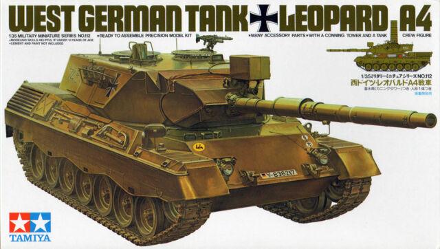 1 300035112 Tamiya 35112 1:35 Bundeswehr Leopard 1A4