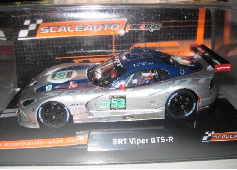 SCALEAUTO SC-6037 SRT VIPER GTS-R Nº53 LE MANS 2013 HOME SERIE 1 32 New