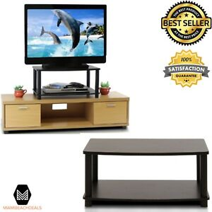 Cheap 2 Tier Elevated Tv Stand Turn N Tube Easy Assemble Indoor Room