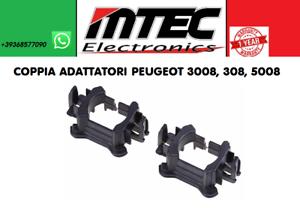 Détails Adaptateurs Lampes Led H7 Porte Peugeot 30083085008 Xénon Paire Set Sur c3JlK1uTF