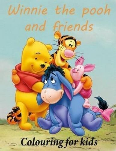 colouring for kids winnie the pooh and friends winnie the