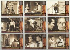 """1999 The Wild, Wild West: Season 1 """"Complete Base Set"""" of 100 Cards (1-100) HTF!"""