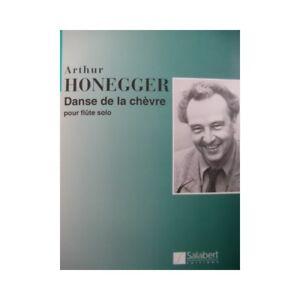 Noten & Songbooks flöte Solo Partitur Sheet Music Score ZuverläSsige Leistung Honegger Arthur Der Tanz Der Ziege Antiquarische Noten/songbooks