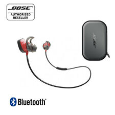 bose wireless earphones. bose soundsport pulse bluetooth wireless in-ear headphones red \u0026 charging case earphones