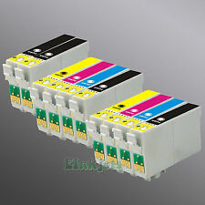 10 Pack Ink for Epson 69 WorkForce 30 500 600 610 615 1100 Stylus CX7000F CX7400