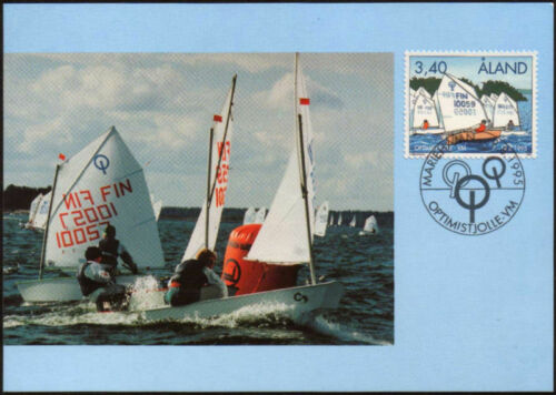 Aland Maxi 1995 Sailing Optimist Dinghies Mint
