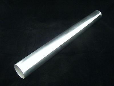 Durite Aluminium Alu droite 76mm 76 mm 500mm de Long, Raccord, Neuf Tuning