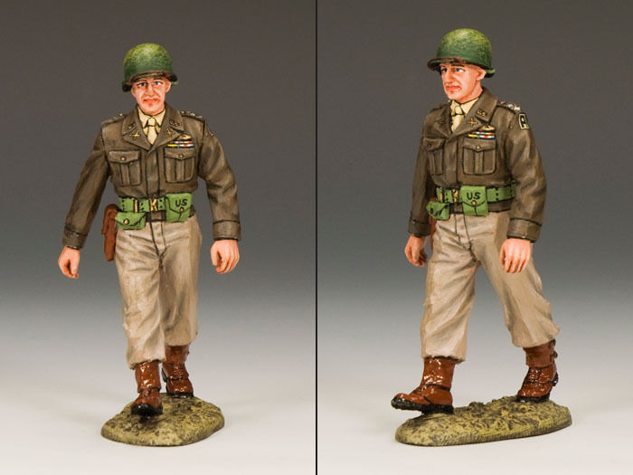 KING AND COUNTRY Escort Officer D DAY WW2 Painted Diecast Metal DD156