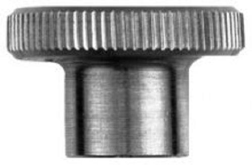 DADO godronato m6 Pollice manopola del tipo di Alta Grip Acciaio Inox a1 DIN 466