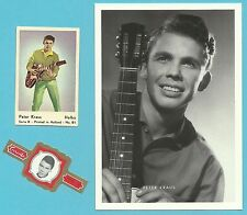 Peter Kraus Fab Card Collection German singer and actor Teen Idol Rock n Roll E