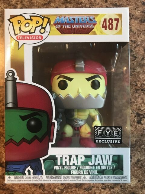 Lot Of 3 NEW Masters of the Universe Exclusive TRAP JAW Free Shipping Details about  /Funko POP