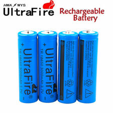 4x UltraFire 3000mah 18650 Battery 3.7v Li-ion Rechargeable Batteries Charger