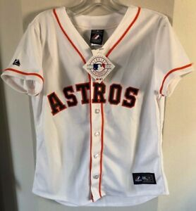 more photos 3ef79 d04b6 Details about Houston Astros -Dexter Fowler #21 Majestic White Cool Base  Player Jersey Youth M