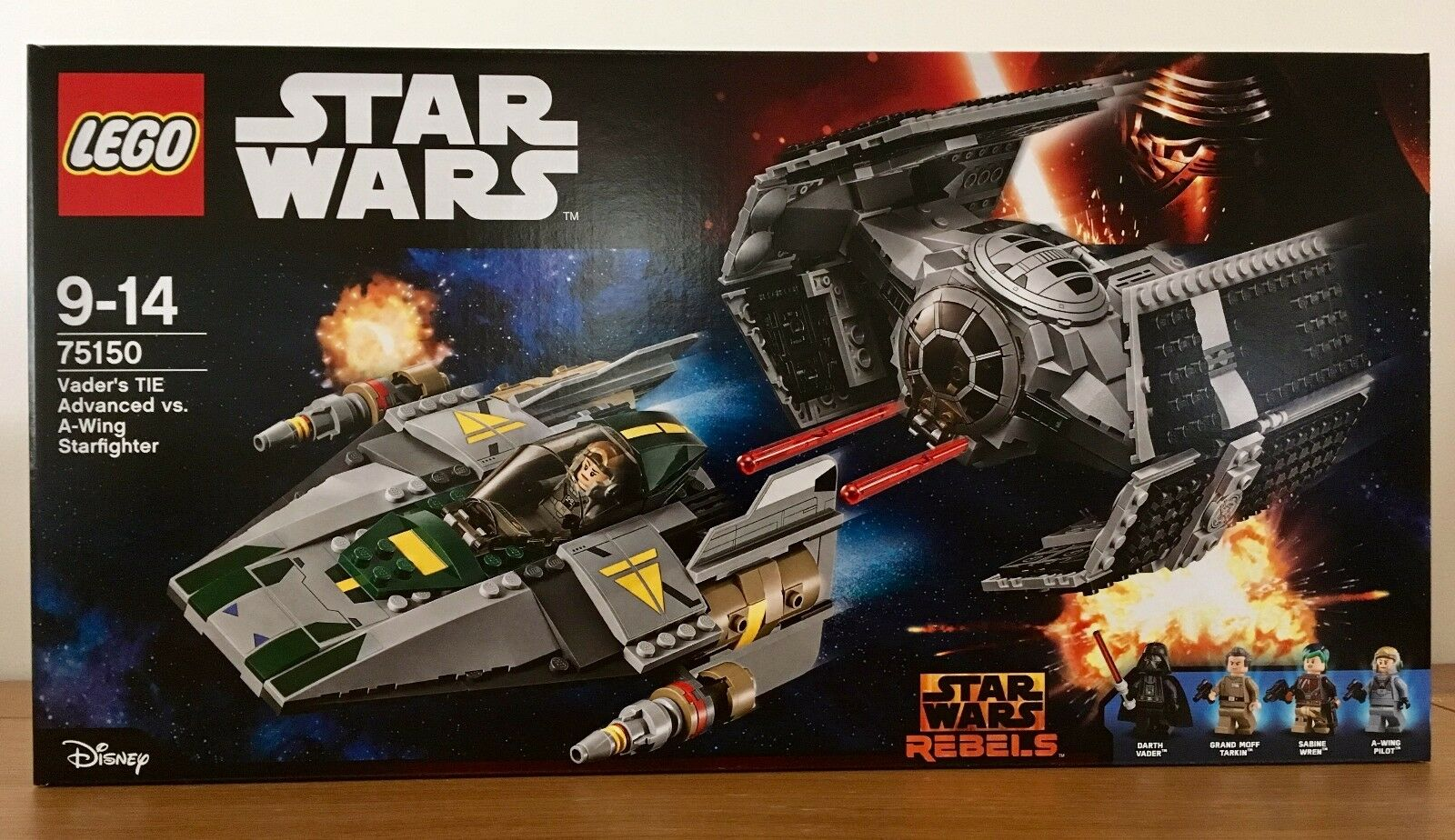 Lego Star Wars 75150 - Vader's TIE Advanced Vs. A-Wing - Never Opened